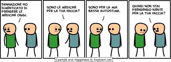 Medicine per la faccia
