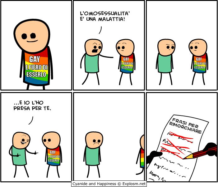 L'omosessualità è una malattia!