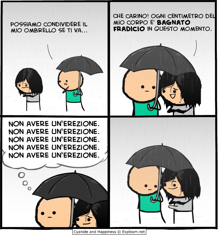 Condividiamo l'ombrello